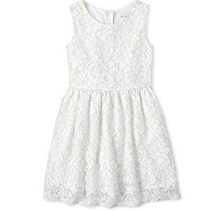 16- Girls' Glitter Lace Dress